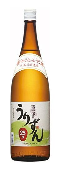 石川酒造場 うりずん 25度 1800ml