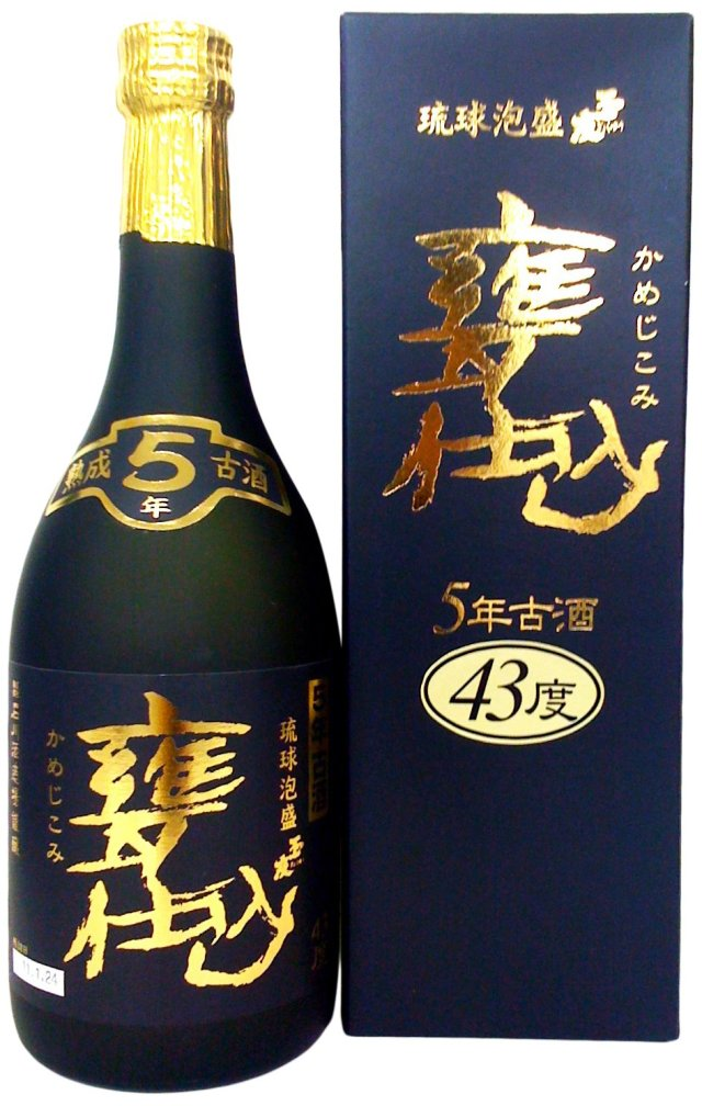 石川酒造場 甕仕込 5年古酒 (箱付) 43度 720ml