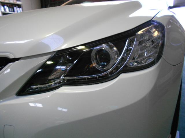 GRX13# マークX LEDヘッドライトセット ブラック
