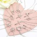【正真正銘の天然ダイアモンド】全12種類のネックレス♪天然ダイアモンドネックレス