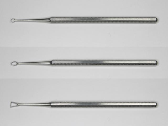 Harp 中空刃ワックス工具3本セット