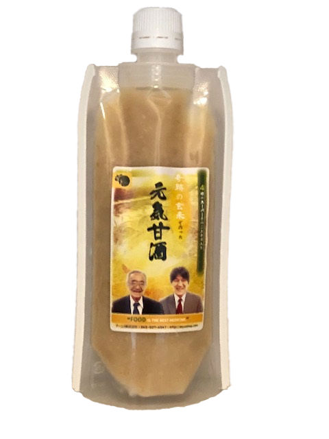 アガリクス、霊芝、マカなどの野草酵素入り奇跡の玄米でつくった元気甘酒(180g)