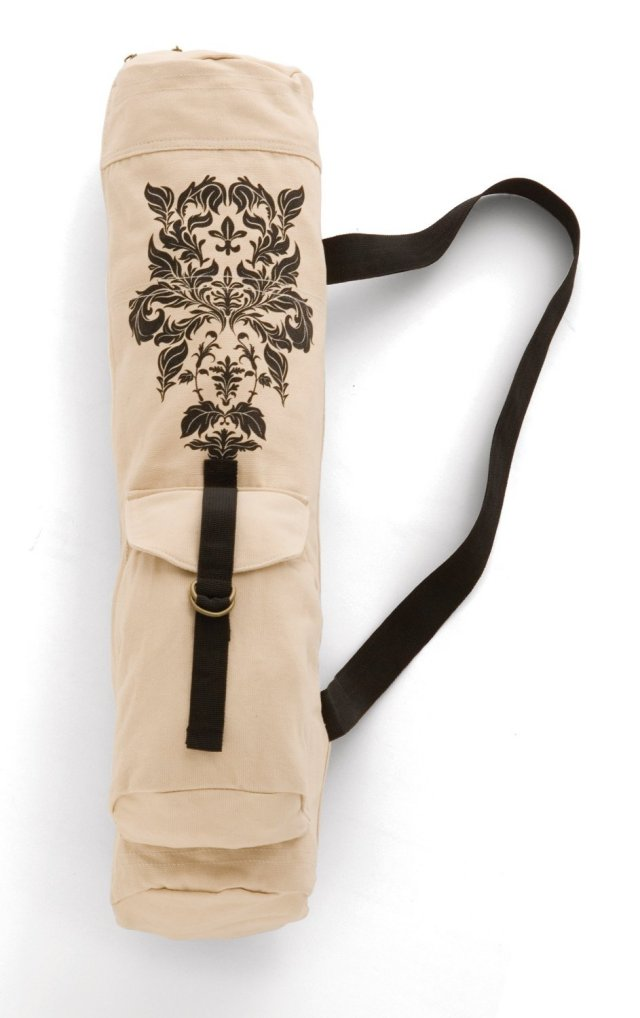 yoga bag, gaiam, damask, ヨガバッグ