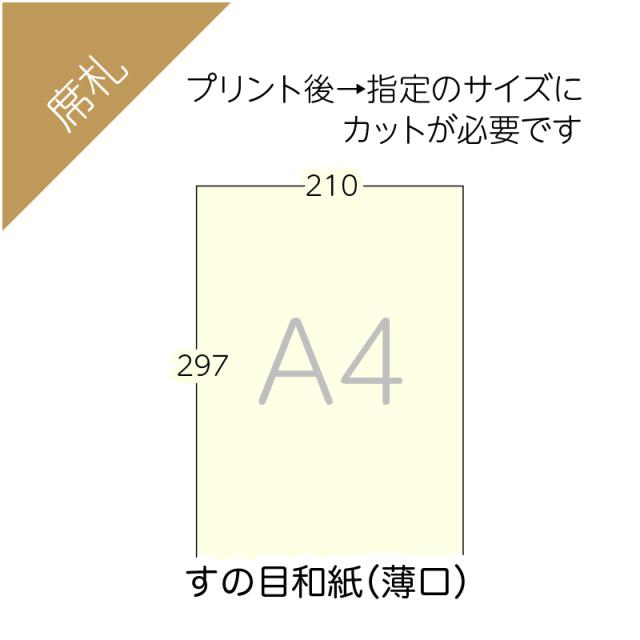すの目和紙A4(フリー用)