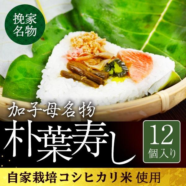 朴葉寿司12個入り_01