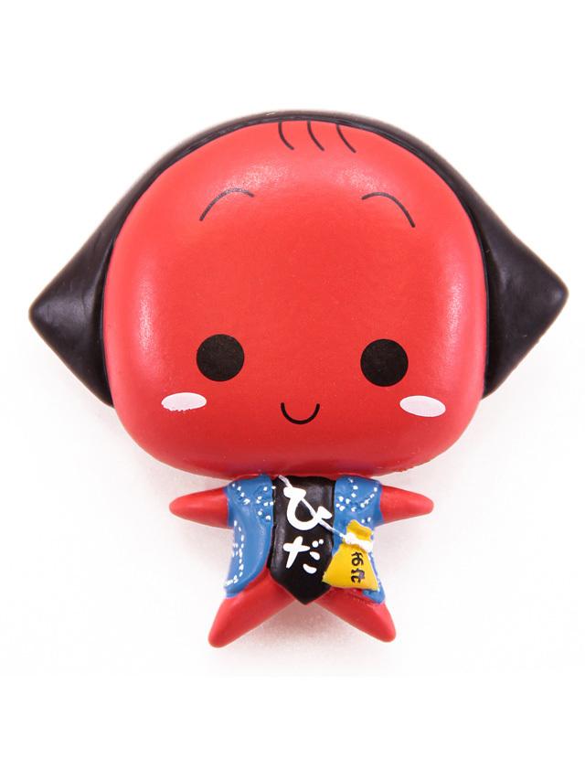 さるぼぼアニメ顔マグネット