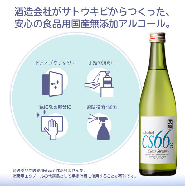 飛騨 天領酒造 CS66%瓶03
