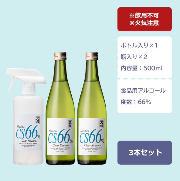 飛騨 天領酒造 CS66%セット04