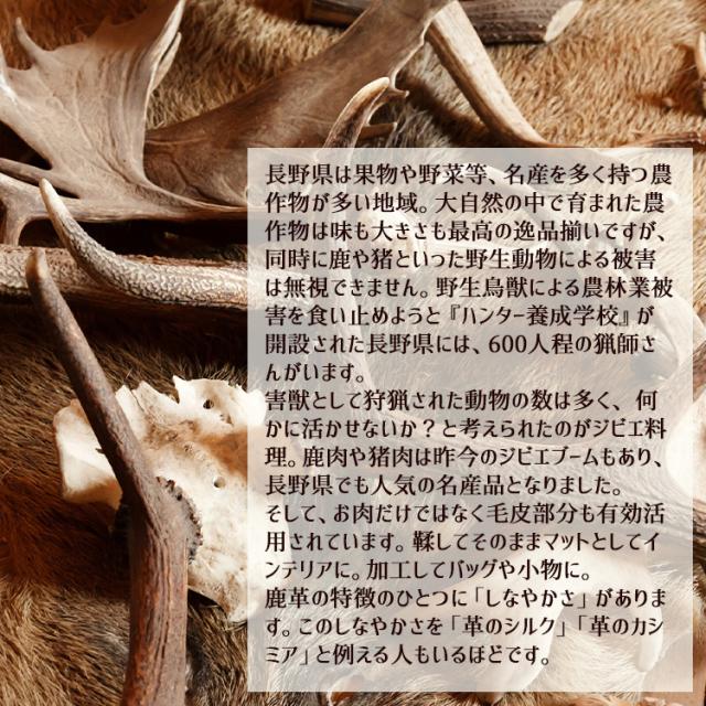 信州阿智村産鹿の毛皮_05