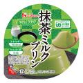 やさしくラクケア 抹茶ミルクプリン 63g