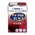 アイソカル100 あずき味 100ml×24