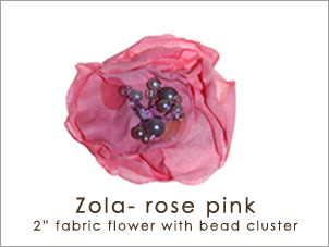 Out to tea Zola (rose pink)