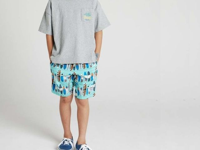 SALE【30%OFF】【2018春夏】highking【ハイキング】sideway shorts(90~150)1181-2482a