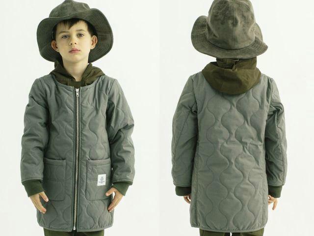 Smoothy スムージー キルト コート 子供服 11