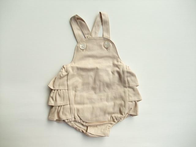 mimi poupons ミミプポン ベビー フリルパンツ サロペット 通販