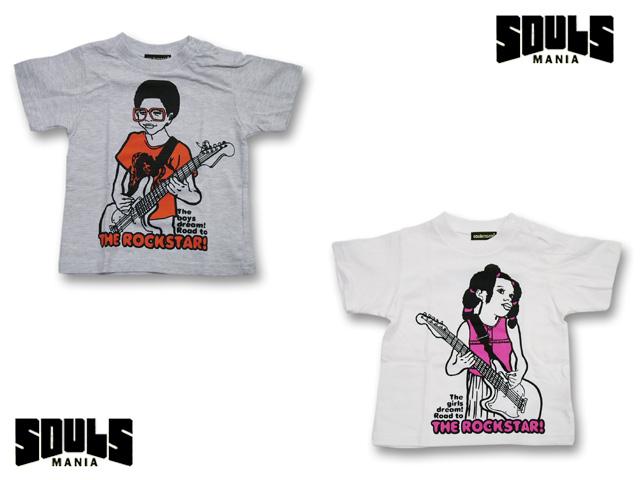 【FINAL SALE!】SOULS MANIA ROCK STAR  Tシャツ