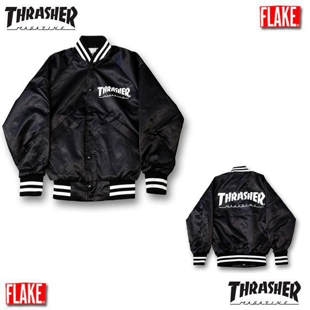 FLAKE THRASHER MAGAZINE BASEBALL JACKET【フレイク スラッシャー SK8 キッズダンス衣装】