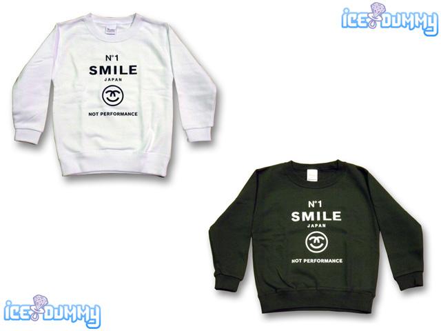 ICE DUMMY No.1 SMILE トレーナー