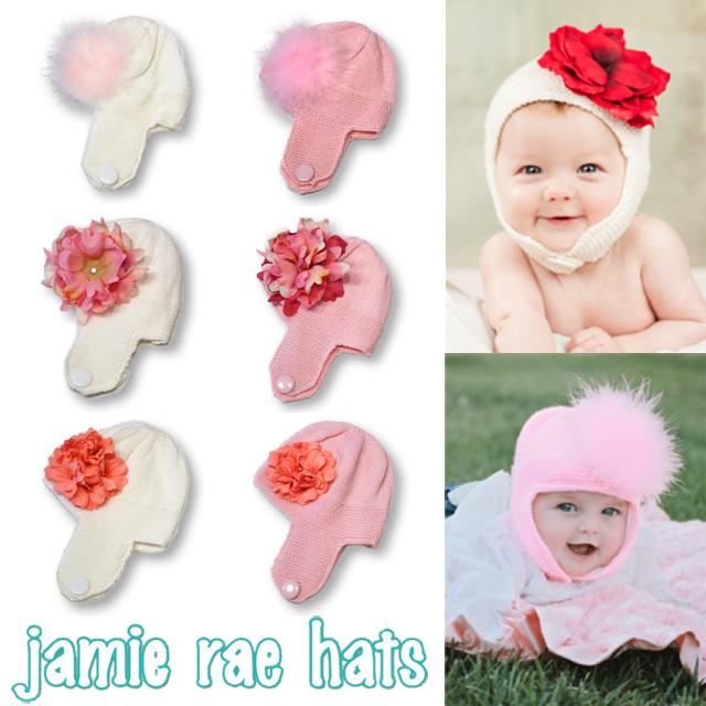 Jamie Rae Hats (ジェイミー レイ ハット) The Beautiful Blossom Bonnet ニット帽  【ジェイミー レイ ハット セレブキッズ】