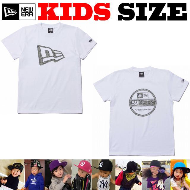 NEW ERA KIDS ELEPHANT コットンTシャツ【ニューエラ キッズサイズ キッズダンス衣装】