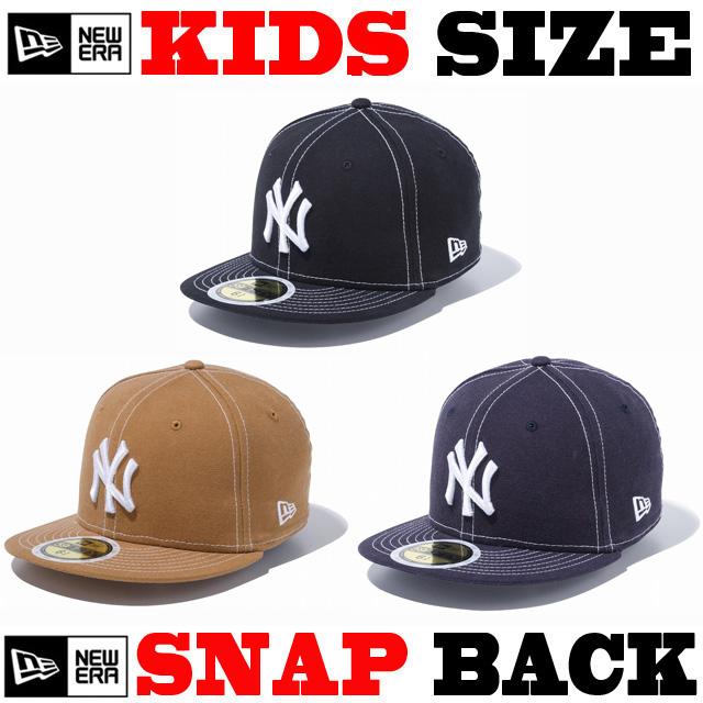 NEW ERA KIDS 59FIFTY ウォッシュドダック CAP 【newera ニューエラ キッズサイズ キッズダンス衣装 帽子 キッズ キャップ 】
