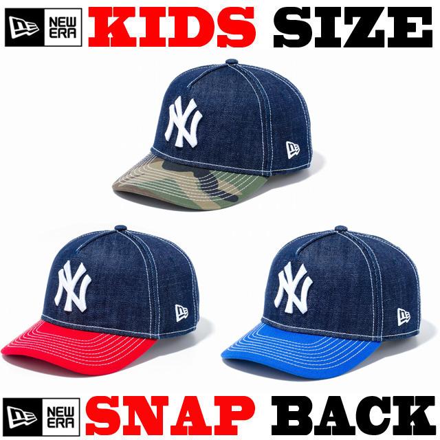 NEW ERA KIDS 9FORTY DENIM SNAPBACK CAP 【newera ニューエラ キッズサイズ キッズダンス衣装 帽子 キッズ キャップ 】