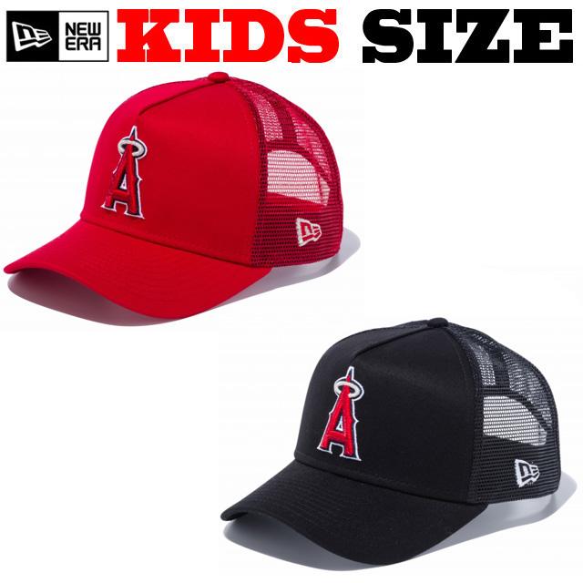ニューエラのキッズサイズモデル! NEW ERA KIDS 9FORTY ANGELS CAP 【ニューエラ キッズサイズ newera baby キッズサイズ メッシュキャップ】