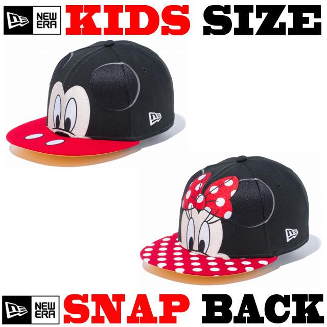 ニューエラのキッズサイズモデル! NEW ERA KIDS 9FIFTY DISNEY BIG FACE CAP 【ニューエラ キッズサイズ newera baby キッズサイズ キャップ】