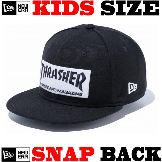 NEW ERA KIDS YOUTH 9FIFTY THRASHER STICKER SNAPBACK CAP 【newera ニューエラ キッズサイズ キッズダンス衣装 帽子 キッズ キャップ 】