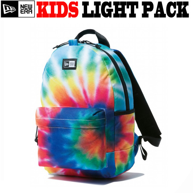 NEW ERA KIDS TIE DYE PRINT LIGHT PACK 【ニューエラ 子供サイズ バックパック タイダイ ライトパック リュックサック】
