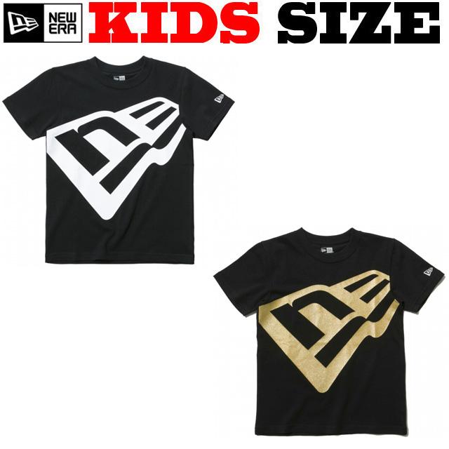 NEW ERA KIDS BIG FLAG コットンTシャツ【ニューエラ キッズサイズ キッズダンス衣装】