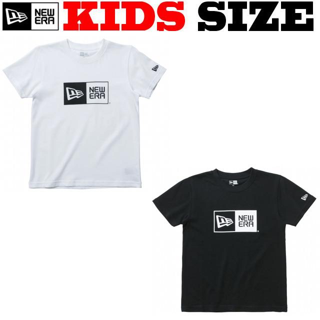NEW ERA KIDS BOX LOGO コットンTシャツ【ニューエラ キッズサイズ キッズダンス衣装】