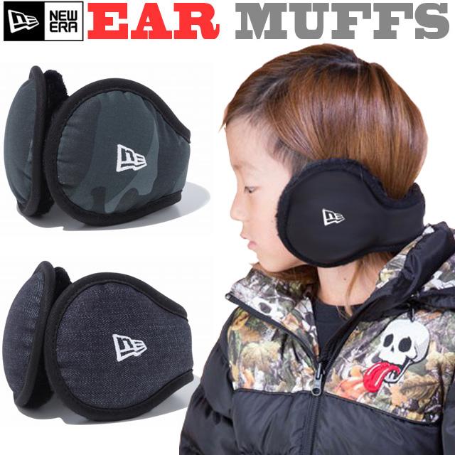 NEW ERA EAR MUFFS BACK ARM TYPE【ニューエラ イヤーマフ 耳あて 防寒 アクセサリー】