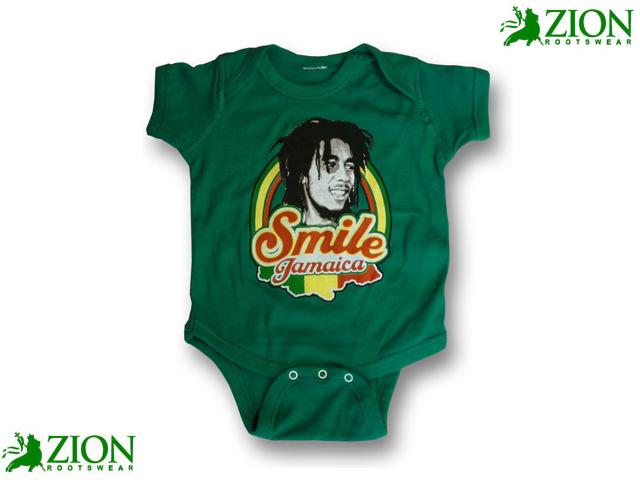 ZION SMILE JAMAICA ロンパース