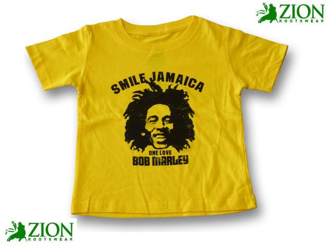 ZION SMILE JAMAICA Tシャツ