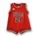 ADIDAS NBA CHICAGO BULLS レプリカジャージロンパース【アディダス シカゴブルズ】