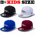 NEW ERA KIDS 59FIFTY BROOKLYN SCRIPT CAP 【newera ニューエラ キッズサイズ キッズダンス衣装 帽子 キッズ キャップ 】