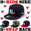NEW ERA KIDS YOUTH 9FIFTY HEART SNAPBACK CAP 【newera ニューエラ キッズサイズ キッズダンス衣装 帽子 キッズ キャップ 】