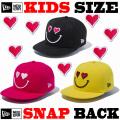 NEW ERA KIDS YOUTH 9FIFTY HEART SMILE SNAPBACK CAP 【newera ニューエラ キッズサイズ キッズダンス衣装 帽子 キッズ キャップ 】
