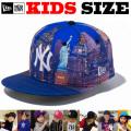 NEW ERA KIDS 59FIFTY CITY LANDSCAPE CAP 【newera ニューエラ キッズサイズ キッズダンス衣装 帽子 キッズ キャップ 】