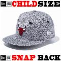 【ニューエラ チャイルドサイズ 】 NEW ERA CHILD 9FIFTY CHICAGO BULLS SNAPBACK CAP 【サイズ調整可能なスナップバックモデル! 】