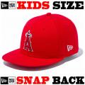 ニューエラのキッズサイズモデル! NEW ERA KIDS 9FIFTY ANGELS CAP 【ニューエラ キッズサイズ newera baby キッズサイズ キャップ】