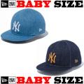 【サイズ調整可能なニューエラ ベビーサイズ 】 NEW ERA MY 1ST 9FIFTY JAPAN DENIM SNAPBACK CAP 【サイズ調整可能なスナップバックモデル! Newera baby キャップ 】