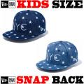 ニューエラのキッズサイズモデル! NEW ERA KIDS 9FIFTY STAR ON DENIM NYC  CAP 【ニューエラ キッズサイズ newera baby キッズサイズ キャップ】