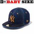 ニューエラのベビーサイズモデル NEW ERA MY 1ST 59FIFTY DENIM CAP 【ニューエラ ベビーサイズ newera baby ベビーサイズ キャップ デニム】