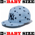 ニューエラのベビーサイズモデル NEW ERA MY 1ST 59FIFTY DENIM STAR CAP 【ニューエラ ベビーサイズ newera baby ベビーサイズ キャップ デニム】