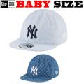 【日本未発売モデル! 】 NEW ERA BABY 9TWENTY CAP 【リバーシブル ソフトキャップ デニム baby キャップ 】