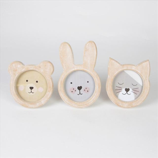 木製フォトフレーム 【rabbit/bear/cat】Sass&Belle/写真たて