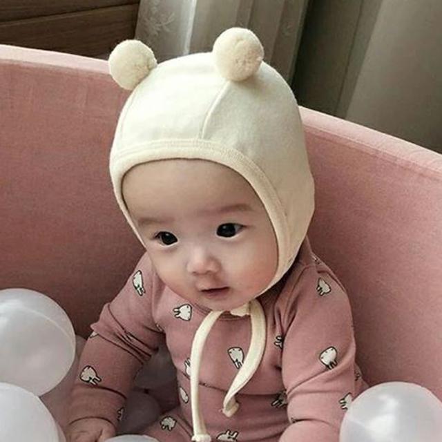 ベアーボンネット【4colors】くま/帽子/ベビー帽子/赤ちゃん/ネコポス