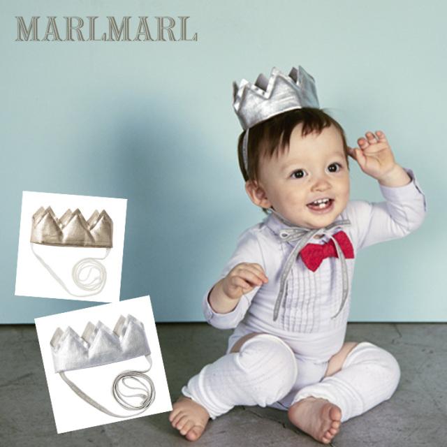 マールマールクラウン【2colors】crown/MARLMARL/ヘッドアクセサリー/出産祝い/ネコポス